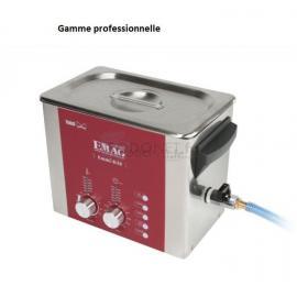 Bac à ultrasons digital 3L avec chauffage EMAG
