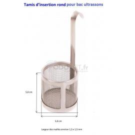 Tamis pour petits instruments bac ultrasons